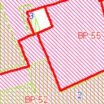Die Grafik zeigt einen Ausschnitt aus den Bebauungsplänen