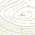 Die Grafik zeigt einen Ausschnitt aus dem WMS-Dienst  Höhenangaben .