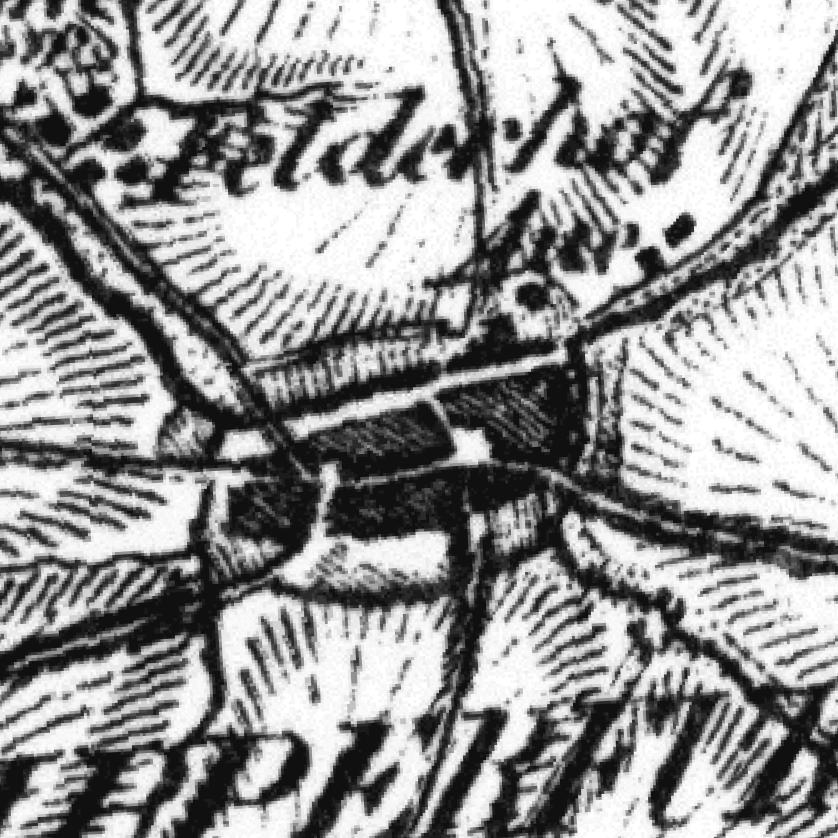 Die Grafik zeigt einen Ausschnitt aus dem WMS-Dienst  1795-1813: Karte von Westphalen .