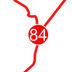 Die Grafik zeigt einen Ausschnitt aus der RadRegionNRW