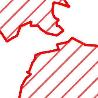 Die Grafik zeigt einen Ausschnitt aus dem WMS-Dienst  Sperrbezirke .
