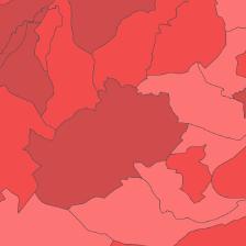 Die Grafik zeigt einen Ausschnitt aus der Landratswahl 2015